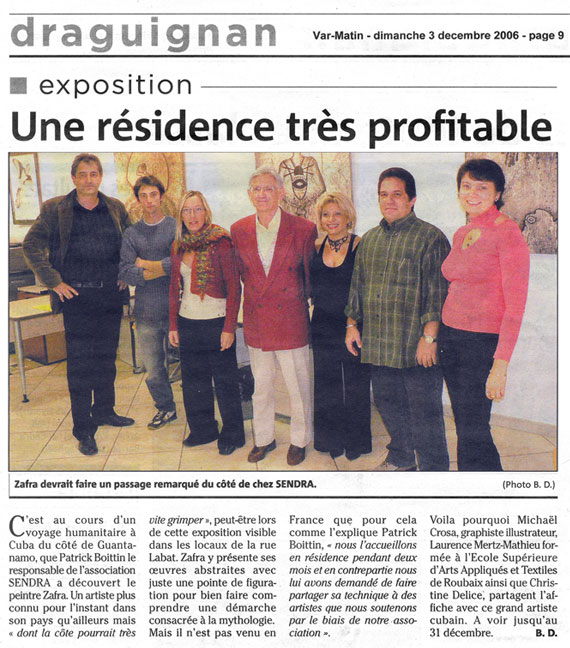 Article Newspaper France